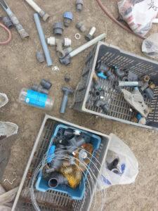 matériel irrigation chez SARL Renard maraîcher bio 78