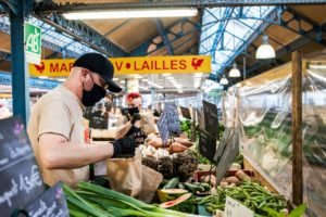 marché Maisons Laffitte chez SARL Renard pendant le confinement