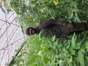 Bacary Toure, saisonnier chez SARL Renard, producteur de légumes bio, 78